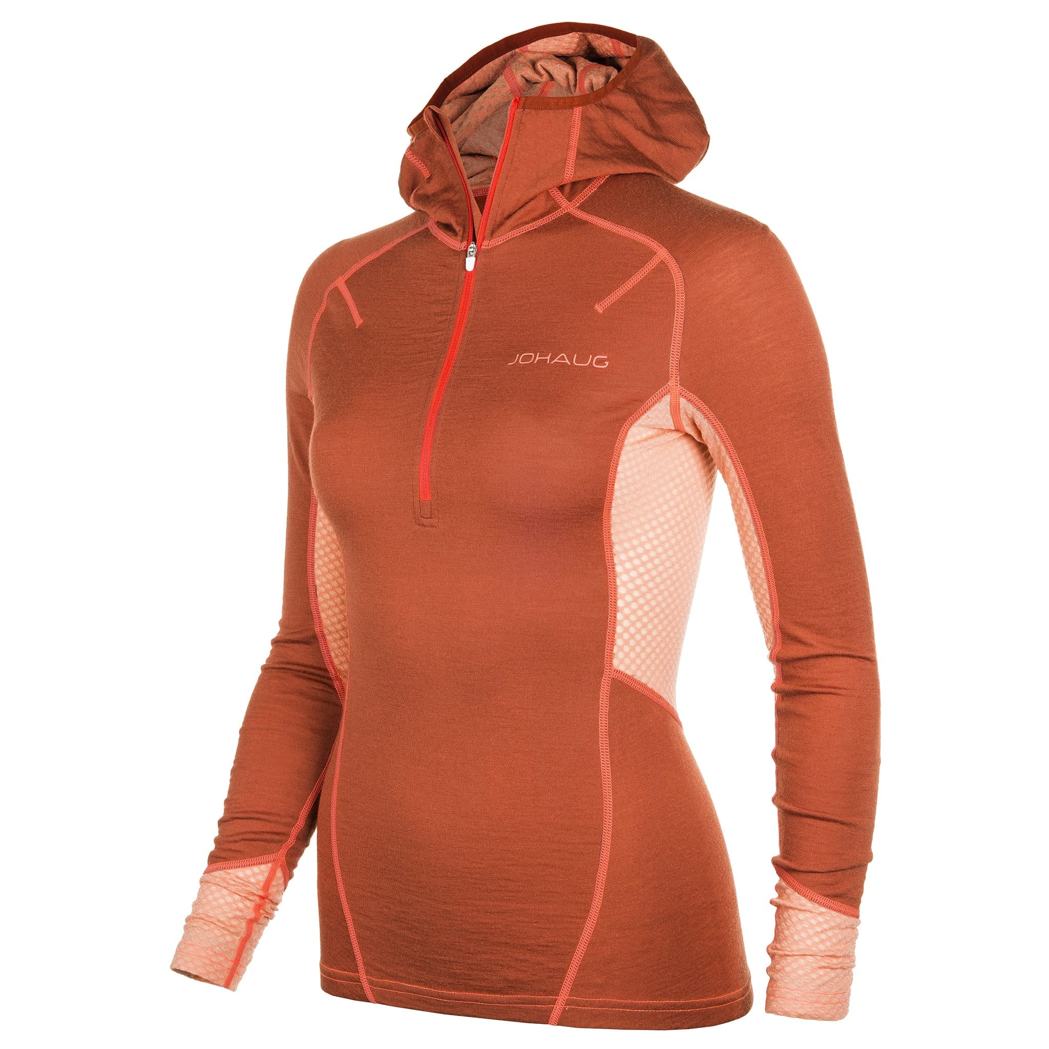 Stretchy, varm og pustende med kombinasjonen mellom Merino ull og Lenzing® Modal
