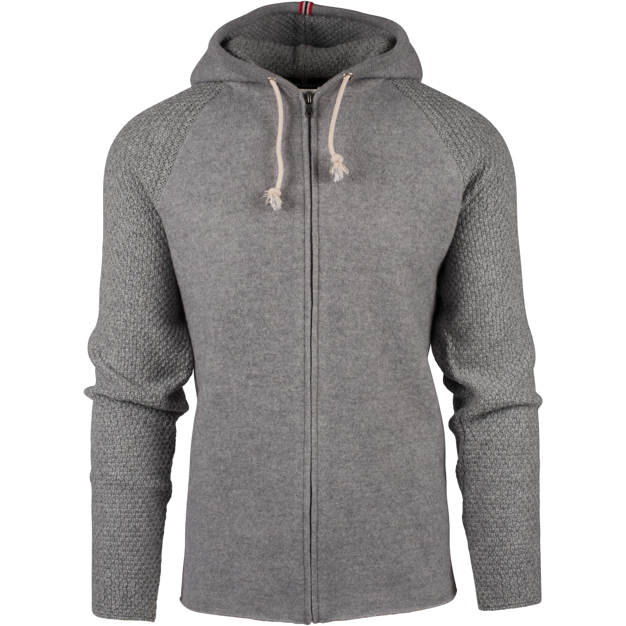 Varm og komfortabel ulljakke i 100% merinoull
