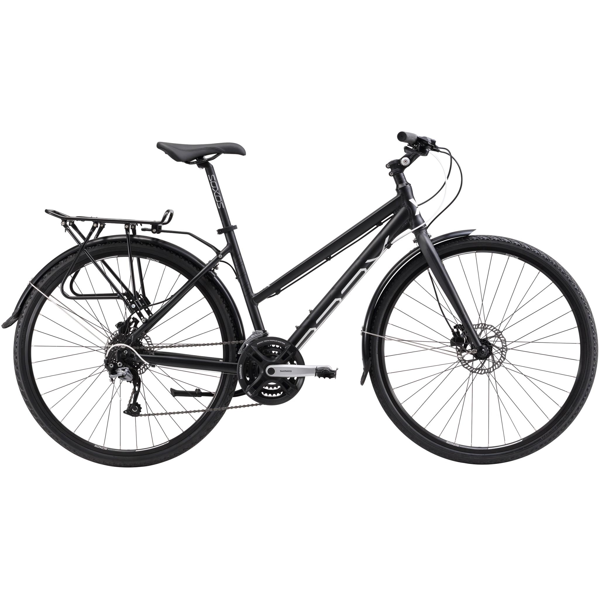 Praktisk hybrid for transport og tur.