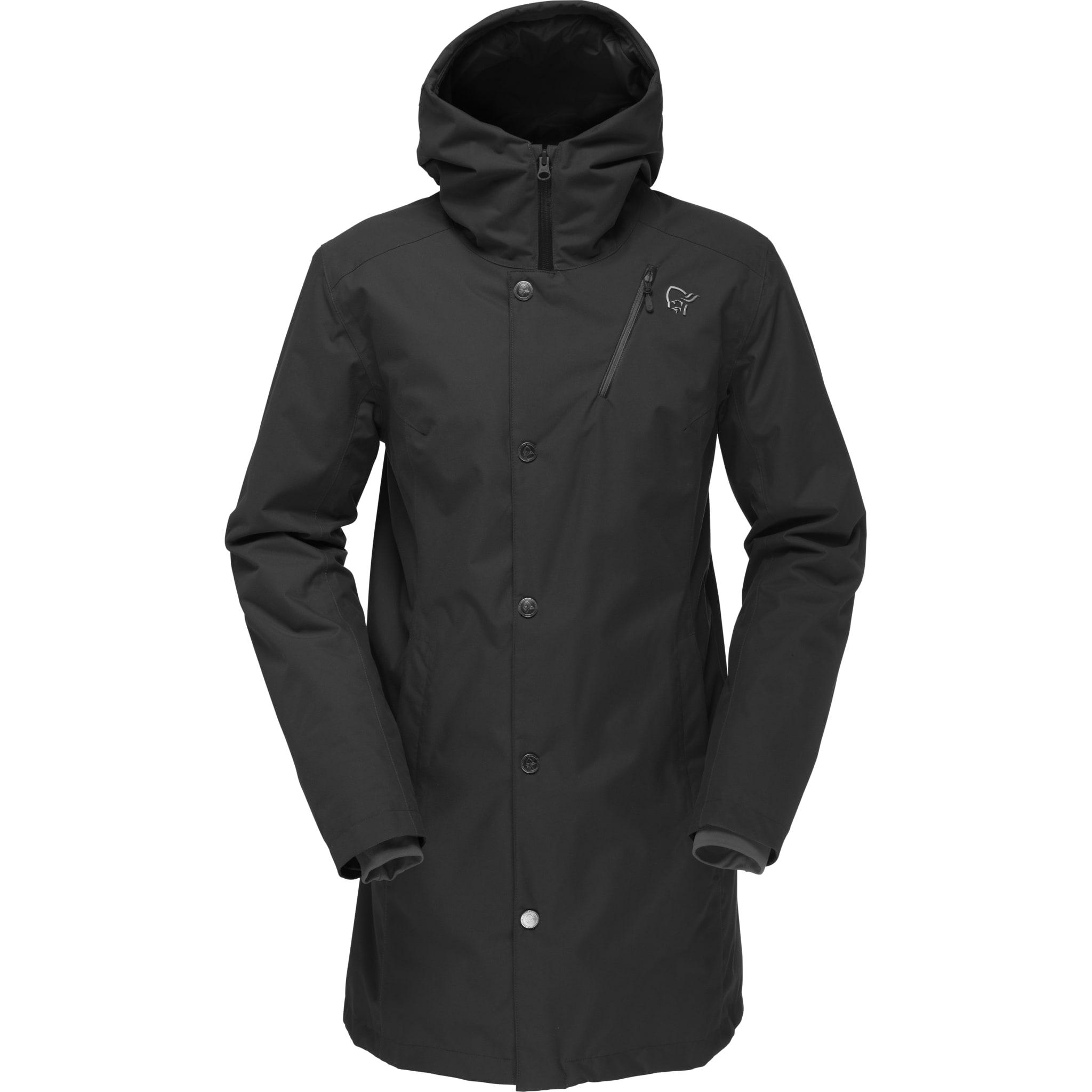 En stilren, varm og værbeskyttende jakke til hverdagsbruk for dame.