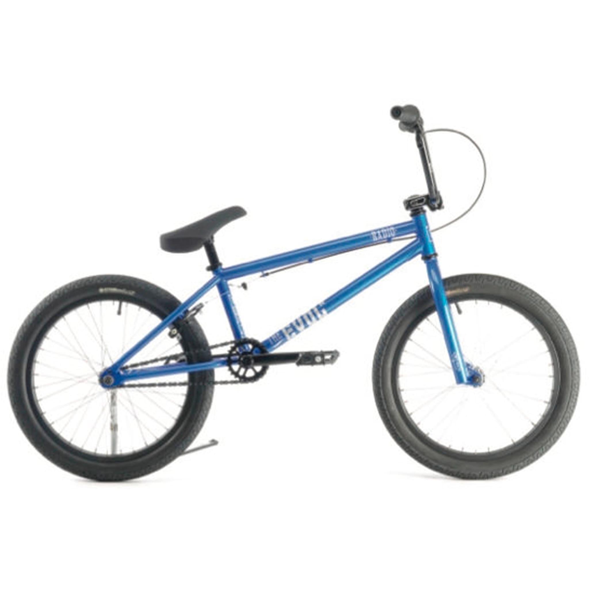 BMX for triksing og dirtjumping.