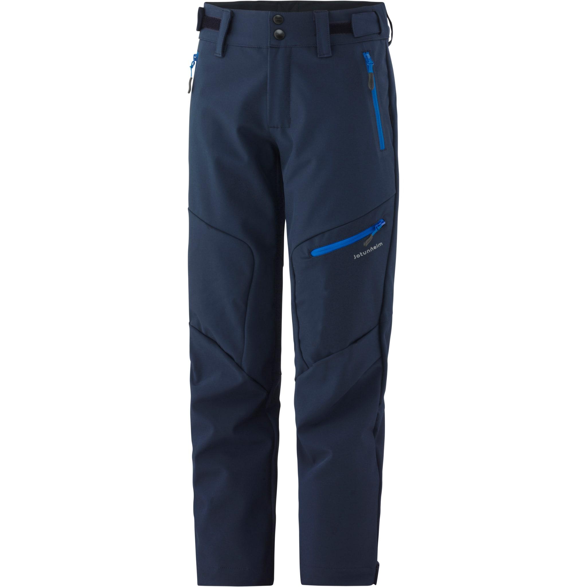 Lette, elastiske softshell-bukser til variert friluftsbruk.