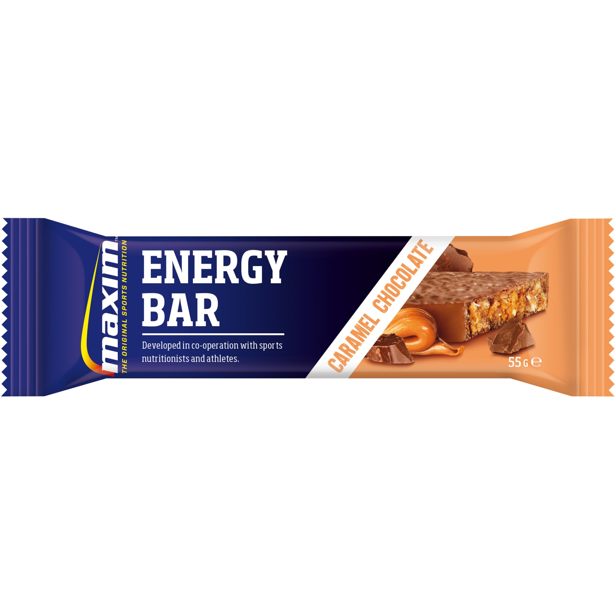 Maxim Energy Bar 55g Caramel