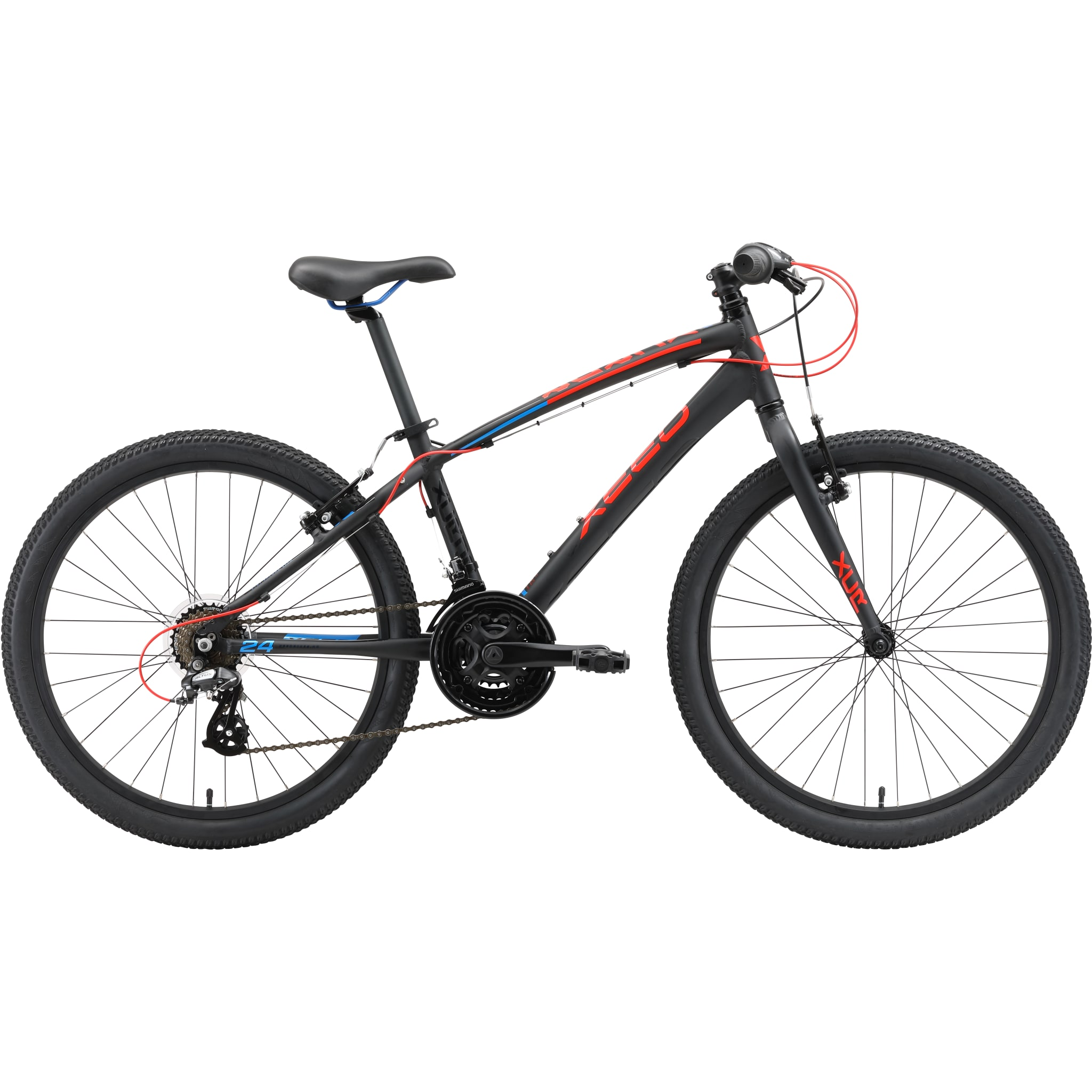 Lettvekts sykkel for barn på 8-12 år