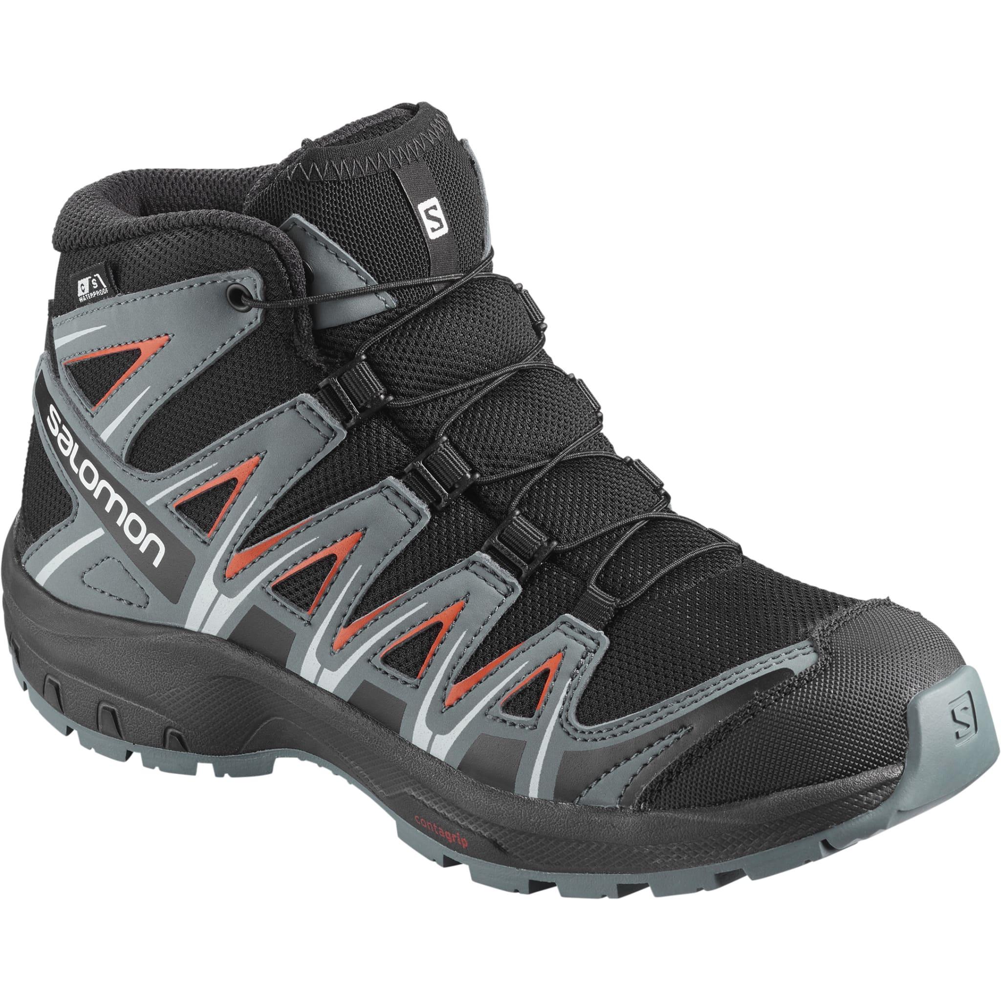 Vantett, stabil og slitesterk sko til junior